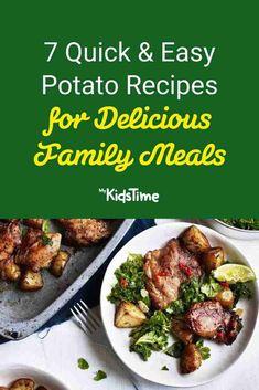 7 Quick & Easy Potato Recipes for Delicious Family Meals National Potato Day, Easy Potato Recipes, Nutritious Meals, Family Meals, Dinners, Potatoes, Favorite Recipes, Food, Dinner Parties