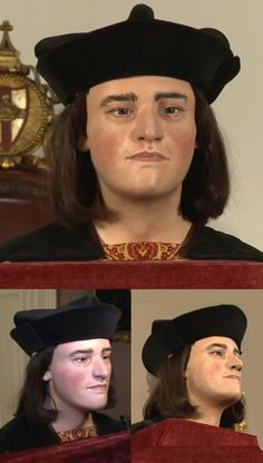 Reconstructed face of King Richard III who died in the Battle of Bosworth Field. His remains were thought lost until they were discovered below a car part in Leicester in King Richard 111, Battle Of Bosworth Field, Forensic Facial Reconstruction, Christian Dating Advice, Anne Neville, Elizabeth Of York, Wars Of The Roses, Plantagenet, Queen Of England
