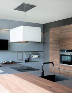 Design afzuigkap voor kookeiland via Wave Kitchen Products #keuken #kookeiland