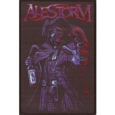 ROCK PUNK METAL MUSIC SEW ON /& IRON ON PATCH:- ALESTORM POP