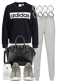 """""""Untitled #1946"""" by mariie00h ❤ liked on Polyvore featuring Oats Cashmere, adidas, Givenchy, adidas Originals and ASOS"""