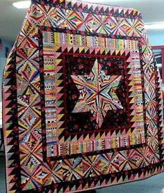 Awesome string quilt