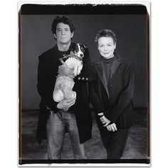 Lou Reed, Laurie Anderson and Lolabelle photo by Mary Ellen Mark, New York, Musician and photographer as well as civil rights activist. Famous for her cross-cultured talent Mary Ellen Mark, Laurie Anderson, New York Times Magazine, Divas, Advertising Photography, Bw Photography, Music Icon, Documentary Photography, Look At You