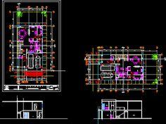 planos de casas modernas bibliocad