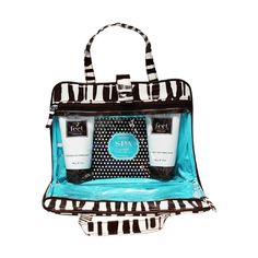 Travel-In-Style Cosmetics Bag Zebra Collection. Cosmetics Bags, just in!