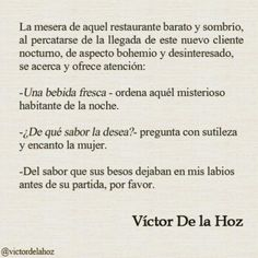 #VICTOR DE LA HOZ