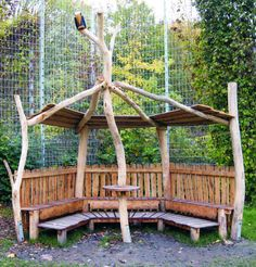Rendez-vous Herne - E 3 - Klik voor een grotere foto Outdoor Education, Forest School, Too Cool For School, Porch Swing, School Design, Playground, Woodland, Environment, Activities