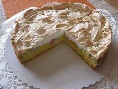 Rhabarber-Kuchen mit Baiser (24 cm) via Kochrezepte.de iPhone/iPad App