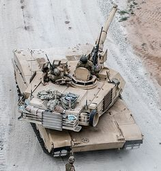Abraams main battle tank of US Army