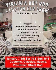2017-Jan--Virginia Hot Rod and Custom Car Show