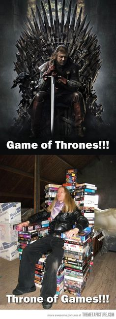 Game of thrones...Throne of games