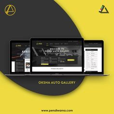 Website for Oksha Auto Gallery and Finishing Room Interior   drop us mail at info@pensilwarna.com or visit our website pensilwarna.com for further information