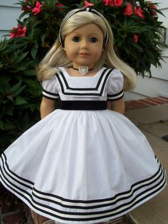 American Girl 1850s Ensemble for Marie Grace or by Farmcookies