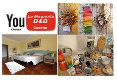 La splendida Cesena alla Magnolia B&B. You choose...