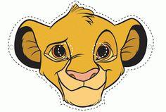 Careta simba del rey leon