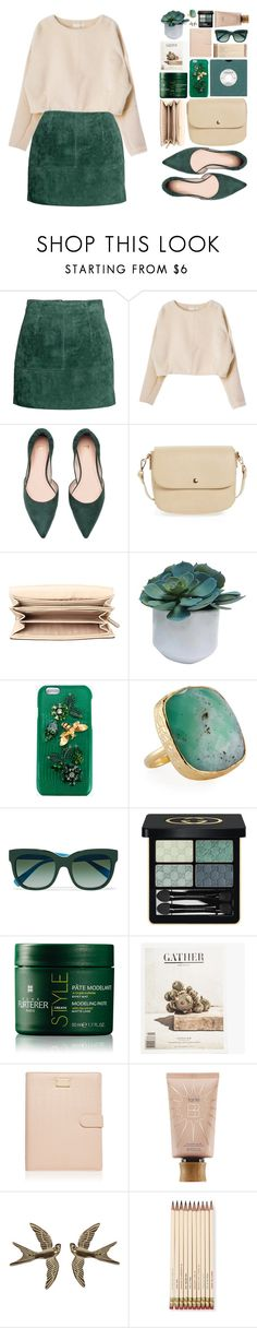 """Без названия #192"" by sinyukovayulya ❤ liked on Polyvore featuring BP., MICHAEL Michael Kors, Threshold, Dolce&Gabbana, NAKAMOL, Gucci, Rene Furterer, Forever New, tarte and Wet Seal"