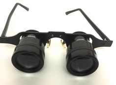 Binocular Glasses Eyeglasses Magnifying Glasses  by ChezShirlianne