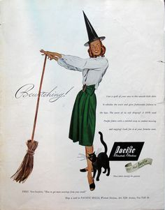 Pacific Mills Worsted Woollens advertisement, 1946