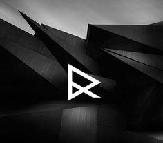 Monogram Logo, Monogram Design, Lettering Design, Branding Design, Logo Branding, Letter Logo, Rainbow Dash, Arquitectura Logo, Vip Logo