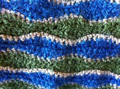 Spiral Baby Blanket In Alternate Colors Pattern From