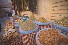 Spezie ai mercatini di Marrakech | by Matteo Rinaldi.it