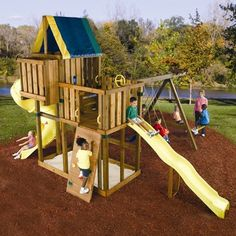 Ready To Build Custom Kodiak Diy Swing Set Hardware Kit - Project 514
