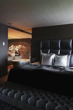 Luxury Interior, Home Interior Design, Interior Architecture, Contemporary Interior, Home Bedroom, Bedroom Decor, Bedroom Ideas, Apartment Bedrooms, Bedroom Modern