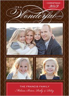 A Wonderful Life Christmas Card