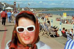 Photograph by Martin Parr. Photograph courtesy of Magnum Photos. Martin Parr, Modern Photographers, Documentary Photographers, Magnum Photos, British Seaside, William Eggleston, New Brighton, Photographer Portfolio, Francesca Woodman