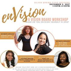 """Today is the LAST day for discounted early bird tickets!! We only have a few more early bird tickets left, then the price will go UP for regular general admission! It's time to get serious about your future and INVEST so that your vision is CLEAR going into 2018. Click the link in my bio and join @envisionworkshop, @venturewithv and I . This event will sell out!! . #entrepreneurlife #businessowner #mindset #strong #energy #leadership #digitalmarketing #onlinemarketing #socialmedia…"