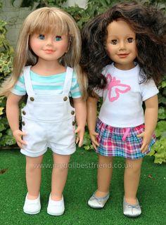 "Artist & Scarlett! | WeGirls Dolls! | 18"" Vinyl dolls made in Germany for Polish brand WeGirls at www.mydollbestfriend.co.uk"