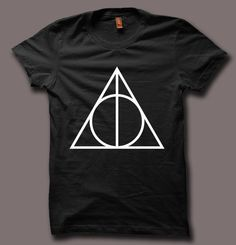 New Deathly Hallows Harry Potter Hogwarts Design Men T Shirt Tee DH76 | eBay