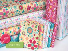 http://www.plushaddict.co.uk/all-fabric/quilting-weight-cottons.html?cat=842 Snug As A Bug: Riley Blake
