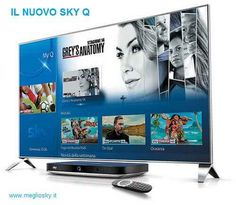 Cosa fa in più e meglio SkyQ rispetto al mysky Sky ha presentato il nuovo decoder (pardon computer multimediale) che promette di integrare pay-tv con streaming, tv con dispositivi mobili. Non sostituirà il MySky, ma si tratta di un device a pagam #sky