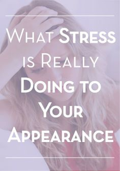 Stress is sometimes inevitable – but don't let it ruin your skin!
