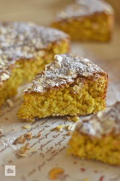 Healthy Desserts, Healthy Recipes, Almond Flour Recipes, Chicken Salad Recipes, Sin Gluten, Gluten Free, Carrot Cake, Cake Recipes, Sweet Tooth
