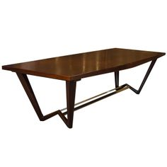 W Dining Table | From a unique collection of antique and modern dining room tables at http://www.1stdibs.com/furniture/tables/dining-room-tables/
