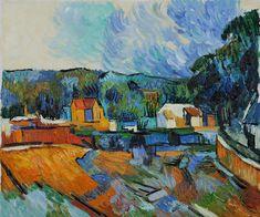 Close  I just love this....    Uferlandschaft  Paul Cezanne