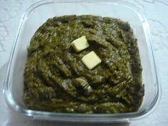 Sarson ka saag Sarson Ka Saag, Vegetable Dishes, Spinach, Indian, Vegetables, Healthy, Breakfast, Food, Morning Coffee