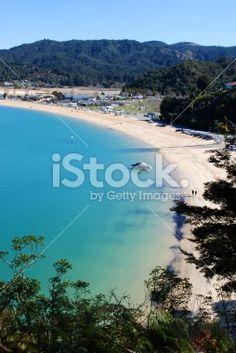 Kaiteriteri Beach, Nelson Region, New Zealand Royalty Free Stock Photo Abel Tasman National Park, New Zealand Beach, Seaside Towns, Beach Fun, Image Now, Beautiful Beaches, National Parks, Royalty Free Stock Photos, Water