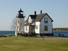 Gull Cottage and Lighthouse, Maine