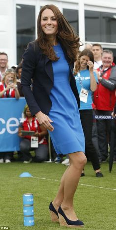 July 2014 - William, Kate and Harry at  Commonwealth Games 2014 in Glasgow (day 2)