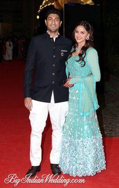 Ahana Deol Wedding and Sangeet Pictures | Bigindianwedding.com