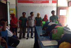 """""""10 Ekspressi Wajah"""" - Suasana Apel Sore di Kantor Divisi 3 BKCE PT. KMB Wilayah 2 BGA Group."""