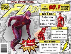 the-flash-2-birthday-invitation