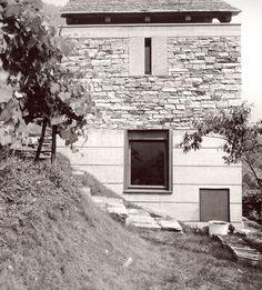 Livio Vacchini - Casa Rezzonico, Vogorno (1984-85)