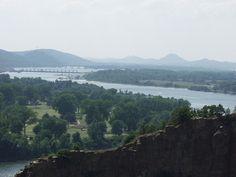 Arkansas River and Pinnacle Mountain, Little Rock, Arkansas