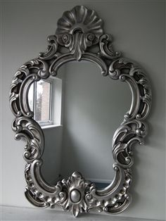 French Style Rococo Mirror , 3ft4 x 2ft3 (101cm x 68cm).