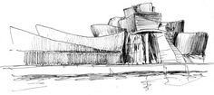 Frank Gehry's Sketch