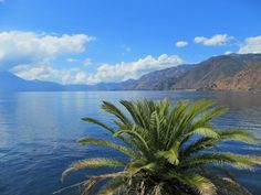 Panajachel am Lago Atitlan in Guatemala.